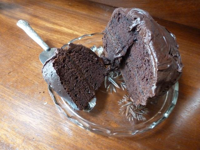 Mummy's chocolate cake