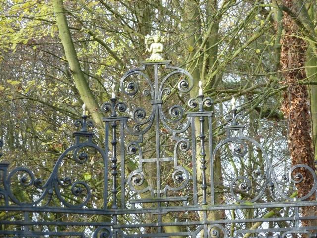 The main gates, painful!