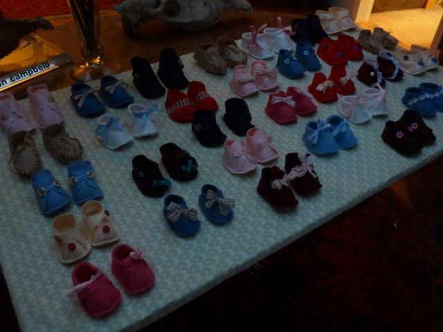 and more baby shoes