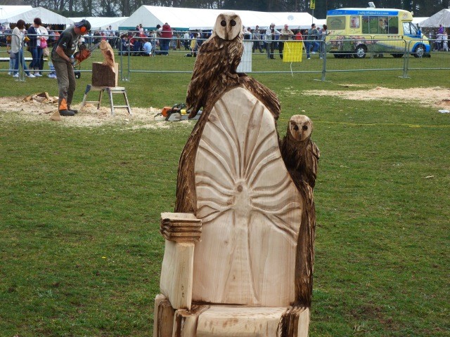 All made with a chainsaw!